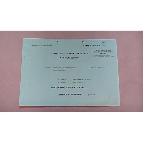 CLANSMAN CES CATALOGUE AMPLIFIER RF PRC352